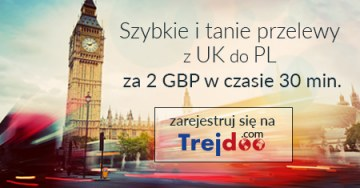 zdjęcie FAST AND CHEAP TRANSFERS FROM GREAT BRITAIN TO POLAND FOR £ 2 IN HALF HOURS