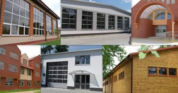 zdjęcie aluminum doors & windows, aluminum curtain walls , aluminum sliding  system
